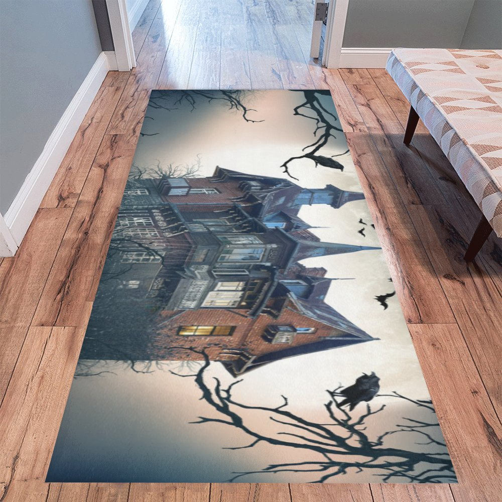 Love Nature Sweet Home Stores Collection Custom Halloween Runner Rug Carpet 10'x 3'3'' Indoor Soft Area Rug