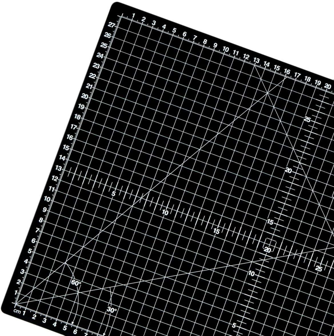 Double-Sided 45.7 x 30.4cm Cutting Mat bi-Coloured Cutting mat M