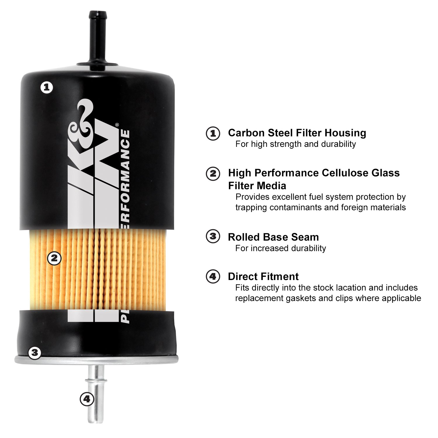 Kn Pf 1000 Fuel Filter Automotive 2010 Tahoe