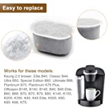 Charcoal Water Filters Replacements Fits Keurig 2.0 Models by Possiave, Pack of 24