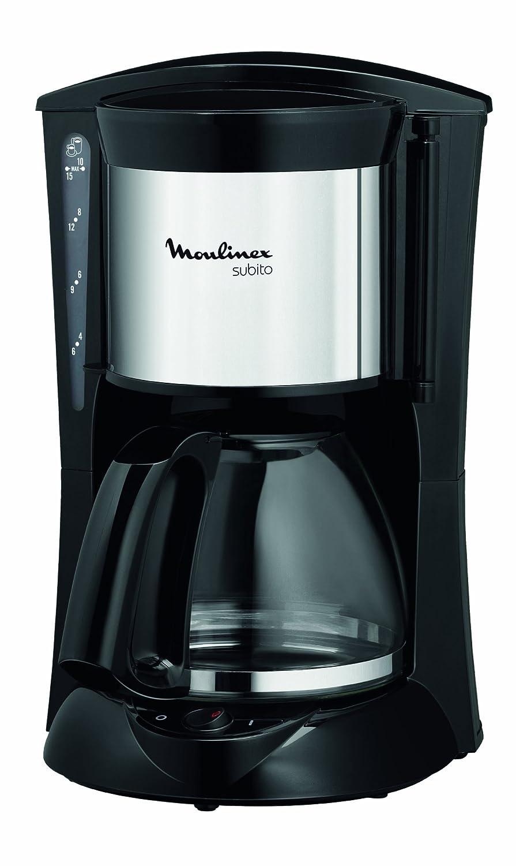 Moulinex FG110510 - Cafetera de goteo, color negro/acero