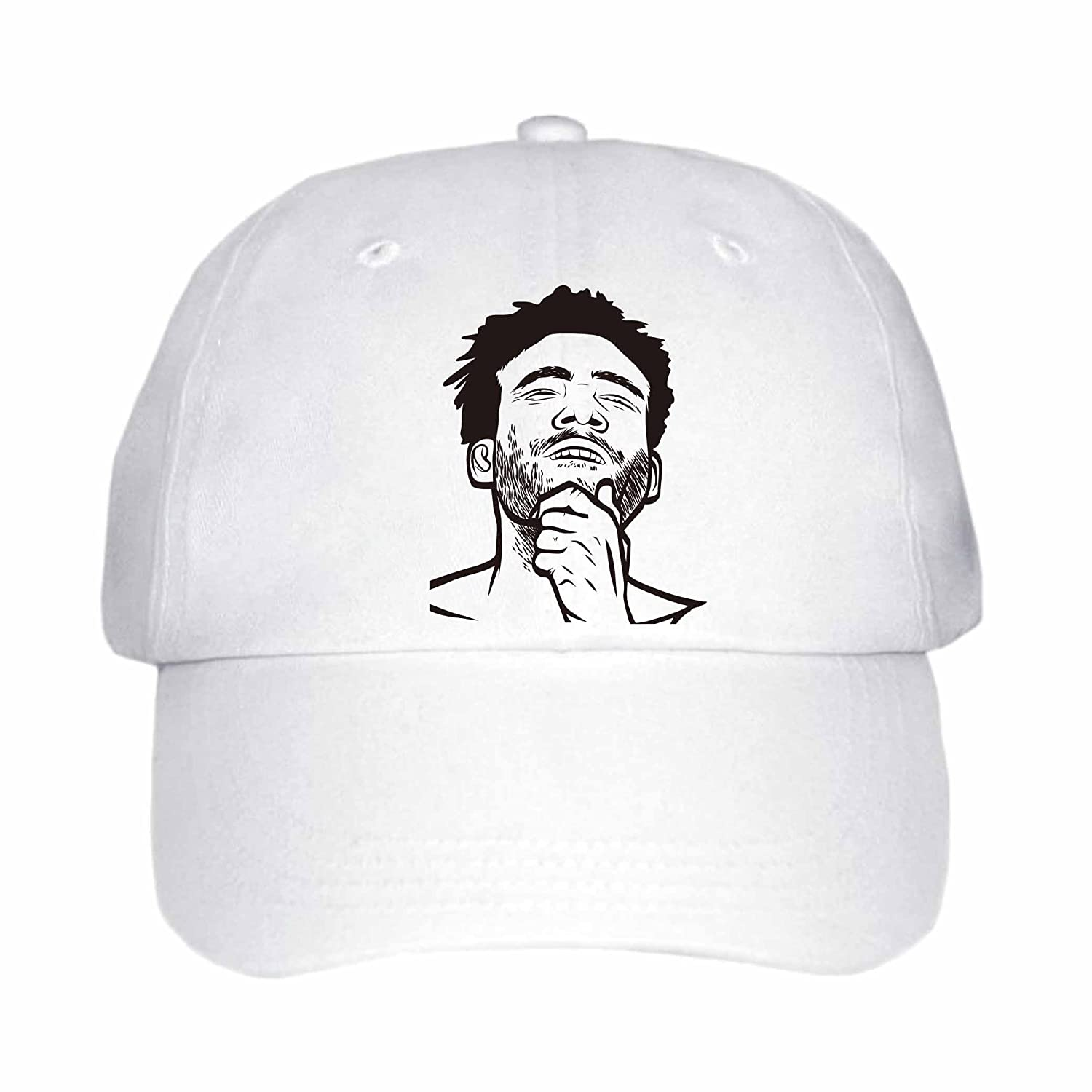 d449a6ee5ff Amazon.com  Childish Gambino Donald Glover Cap Hat (Unisex) (Khaki)   Clothing