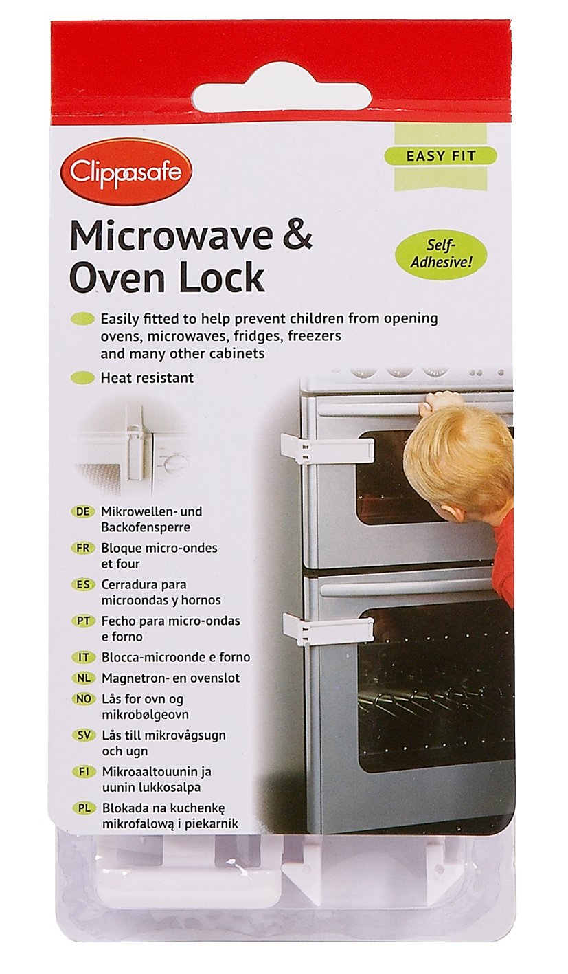 Clippasafe Microwave and Oven Lock Clippasafe Ltd CL740