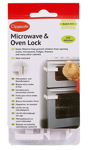 Amazon.com : Clippasafe Ltd Microwave And Oven Lock : Appliance ...