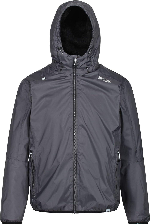 Regatta Mens Tarren Waterproof /& Breathable Fleece Lined Hooded Jacket Waterproof Insulated