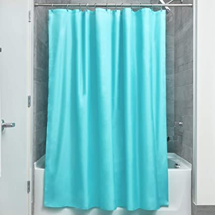 Image Unavailable Not Available For Color InterDesign Mildew Free Water Repellent Fabric Shower Curtain