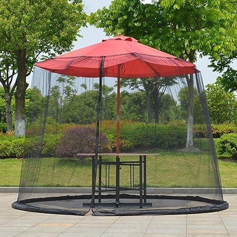Sombrilla Para El Jardín Parasol Para El Sol Mesa Mosquitera ...