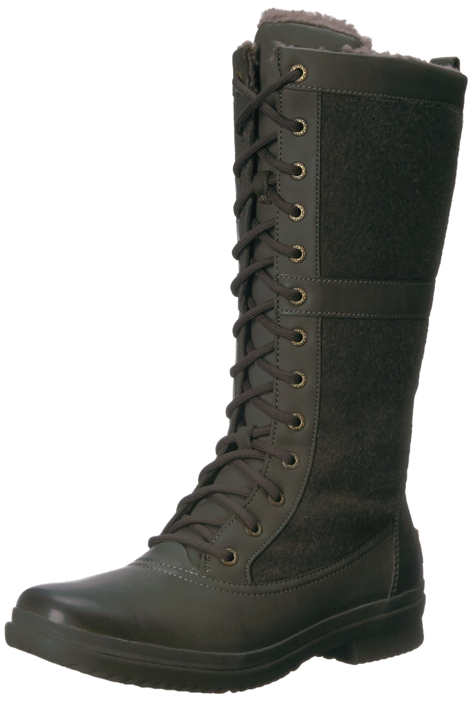 UGG Women's Elvia Boot, Slate, 9.5 M US