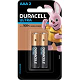 Duracell Ultra Alkaline AAA Batteries (Pack of 2)