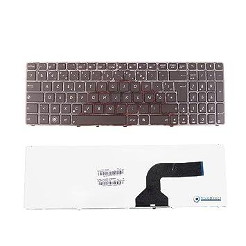 Teclado Azerty Francés negro para ordenador portátil ASUS A53BR Series: Amazon.es: Informática