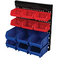 Performance Tool W530 12Pc Wall Mount Bin System, 1 Pack