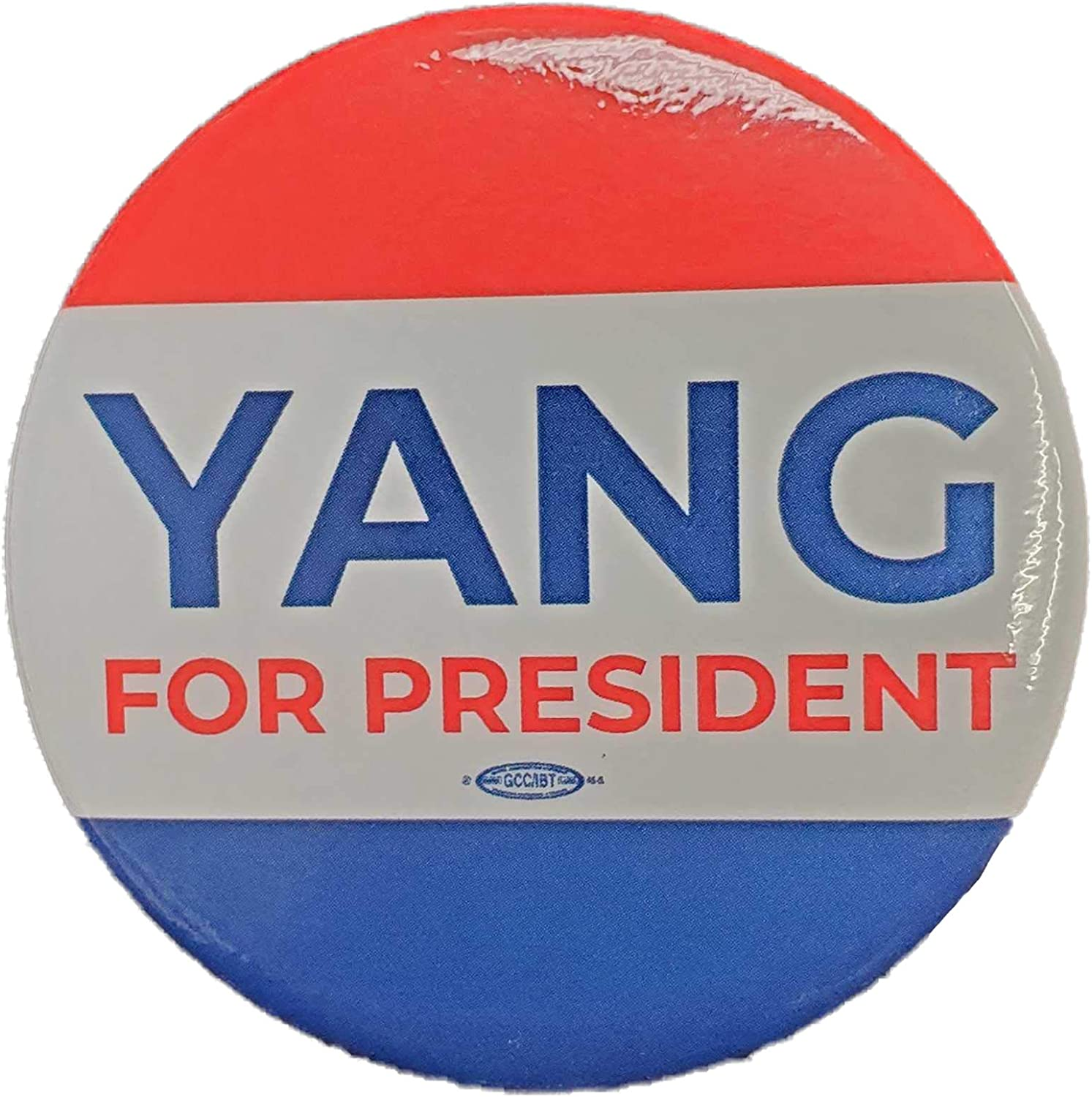 2020 Presidential Candidate Andrew Yang Official Campaign Button
