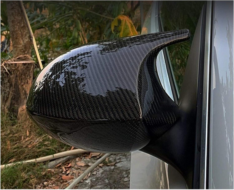 WODEJIA 2X Mirror Cubierta Coche La Puerta Lateral Retrovisor Lateral Cubierta Espejo Casquillo Fit For BMW E90 E91 E92 E93 2005-2007 2006-2009 M3 E80 E81 E87 Espejo Retrovisor Cubierta