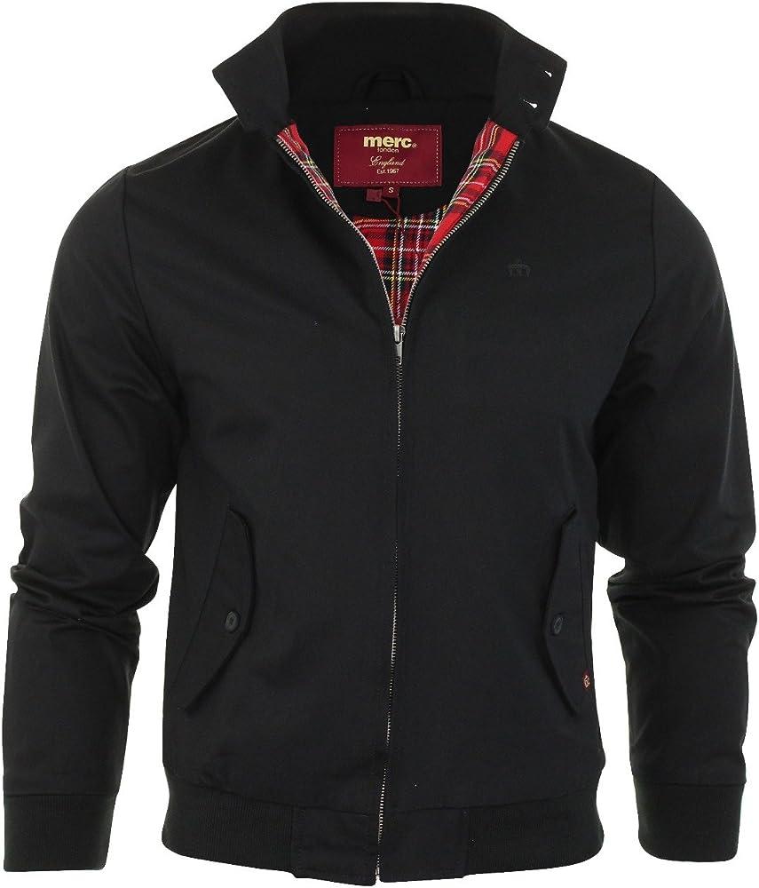 Merc - Abrigo para hombre, color negro, talla S: Amazon.es ...