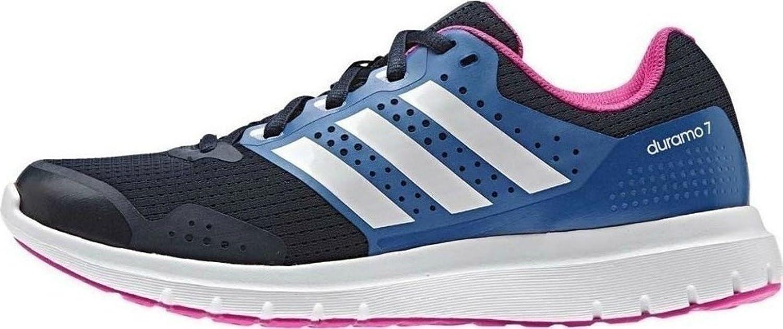 adidas Duramo 7, Zapatillas de Running para Mujer, Azul (Collegiate Navy/FTWR White/Shock Blue), 36 EU: Amazon.es: Zapatos y complementos