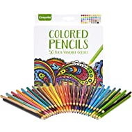 Crayola Colored Pencils, Adult Coloring, Fun At Home Activities, 50 Count