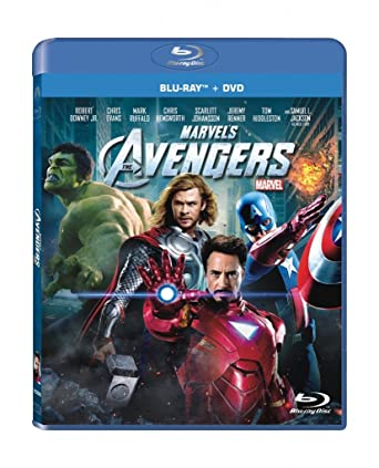 amazon com marvel s the avengers blu ray robert downey jr