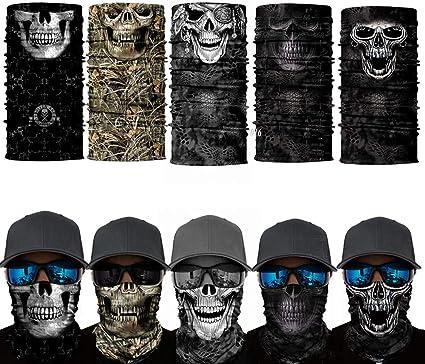 SA Company Face Shield Mask USA Skulls Fishing Cycling Outdoor FREE SHIPING