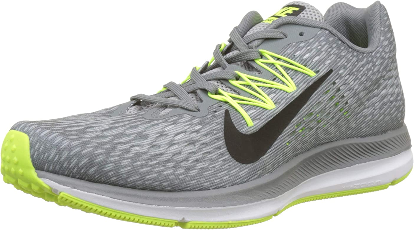 finest selection daf20 fad7d Nike Men s Air Zoom Winflo 5 Running Shoe, Cool Grey Black-Wolf Grey