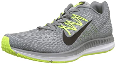 7f478ed0dcd NIKE Men s Zoom Winflo 5 Cool Grey Black-Wolf Grey Running Shoes (AA7406