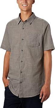Columbia Under Exposure - Camisa de Manga Corta Yarn Dye Hombre: Amazon.es: Deportes y aire libre