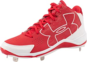 Under Armour Ignite Mid ST Men's Baseball Cleats Metal Spikes