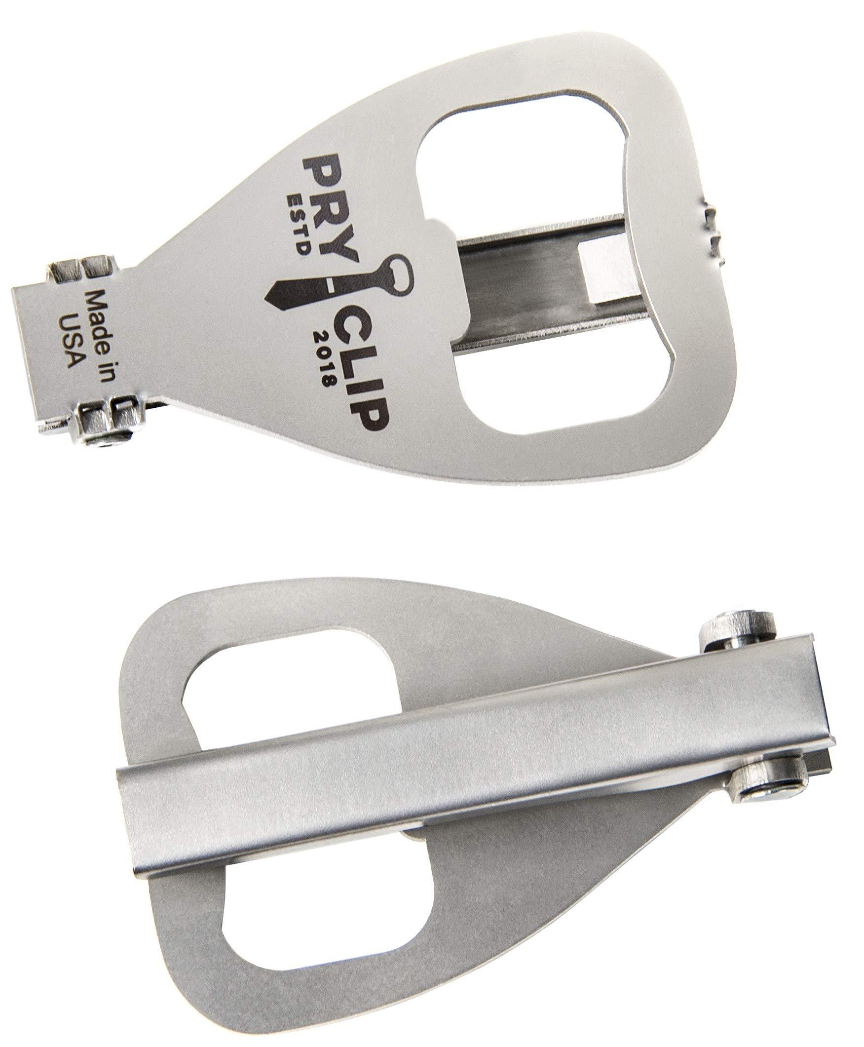 PRYCLIP - Tie Clip Bottle Opener, Laser Engraved, Gift Bag Included by PRYCLIP (Image #1)