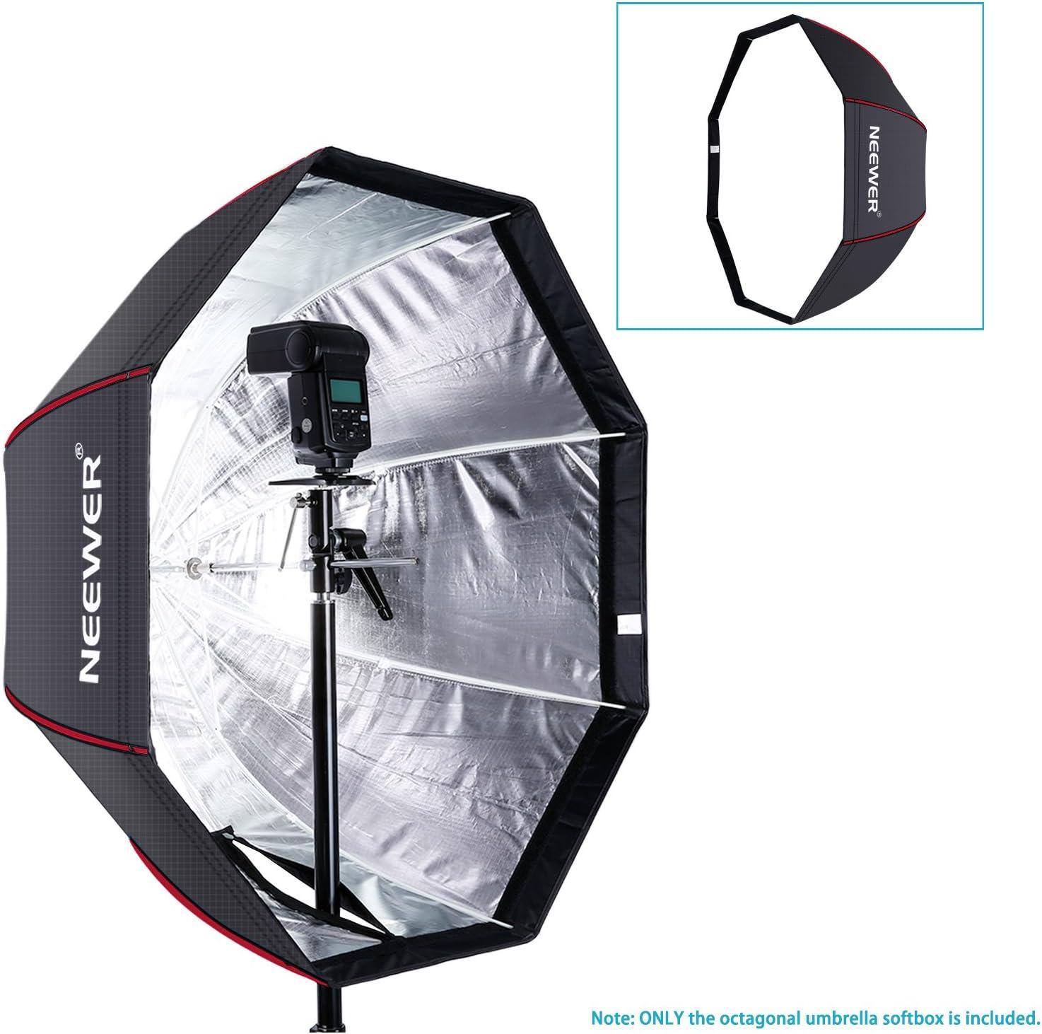 Neewer 120 Zentimeter Achteckige Softbox Studioschirm Kamera