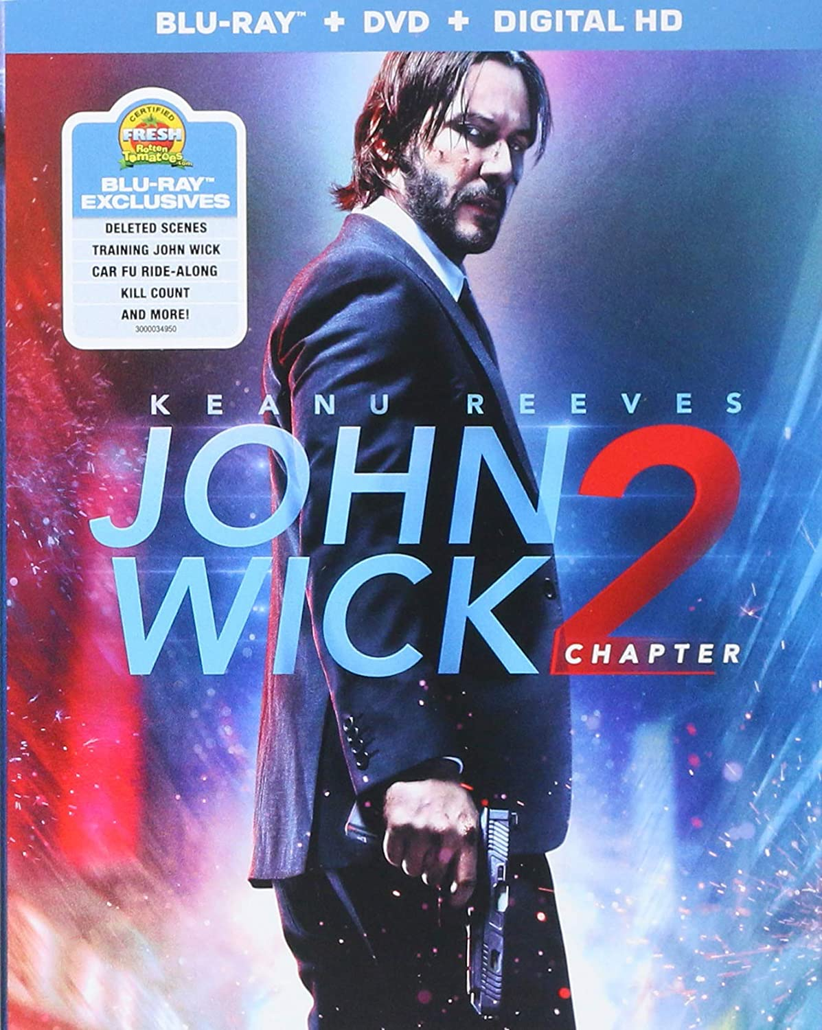 Amazoncom John Wick Chapter 2 Blu Raydvd Digital Hd