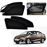 Auto Pearl Zper_MCurtain_Ciaz Zipper Magnetic Sun Shades Car Curtain for Maruti Suzuki Ciaz (Pack of 4)