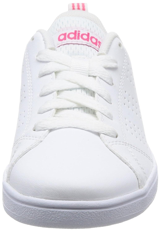 super popular 17920 a4481 adidas Vs Advantage Cl K, Chaussures de Gymnastique Mixte enfant, Blanc  Cassé (FTWR