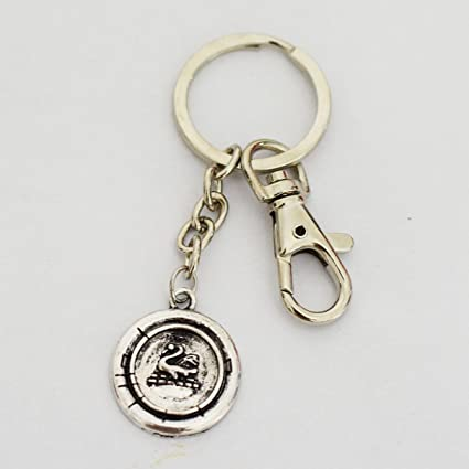 Once Upon a Time Character Emma Swan Inspired Charm Keychain , Jewelry for Women, Keychain , Girlfriend Gifts Keychain