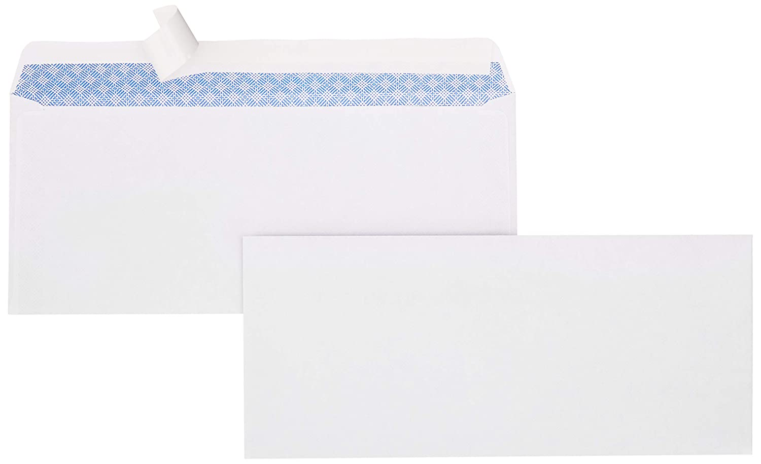 AmazonBasics #9 Envelopes, Peel & Seal, Security Tinted, 100-Pack