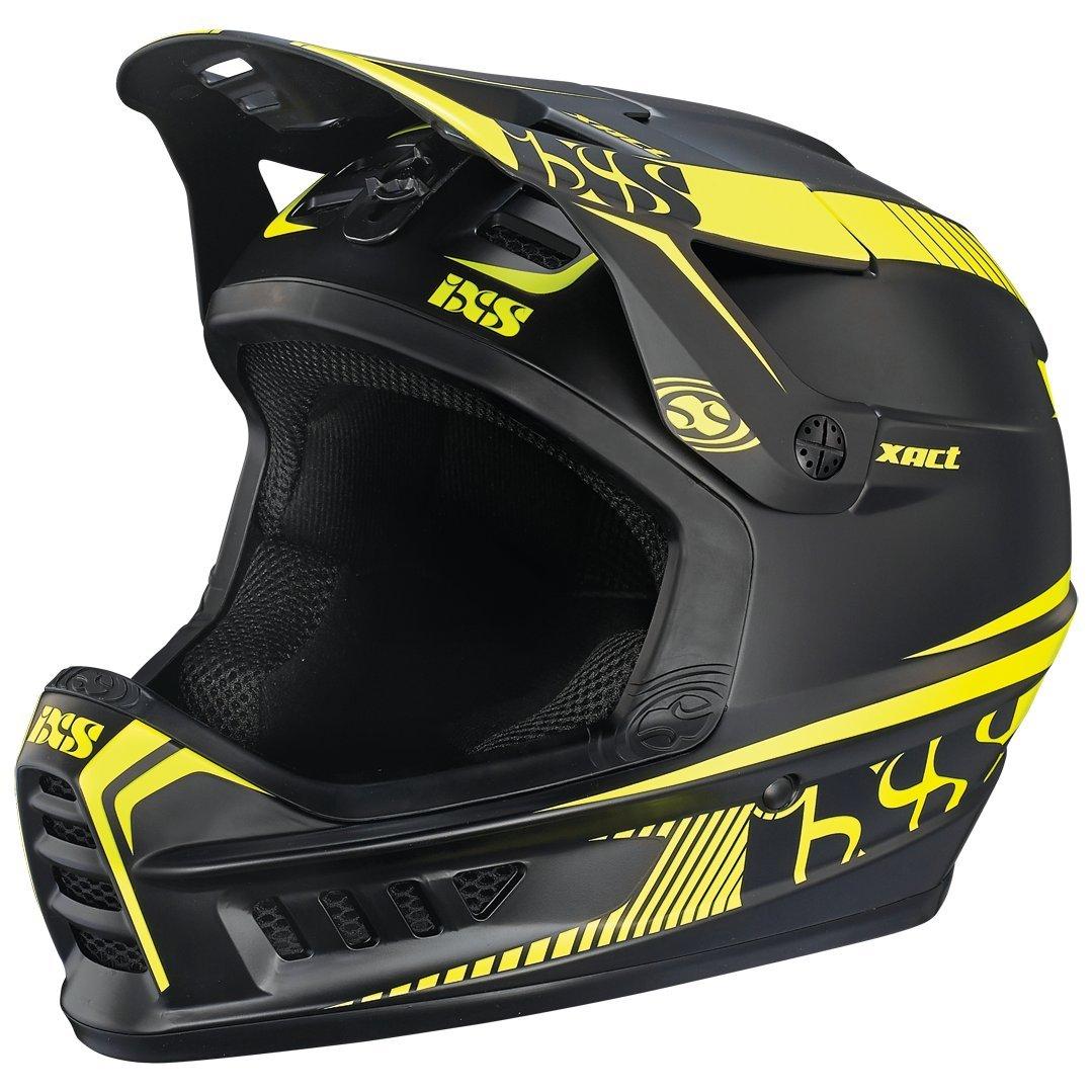 IXS Xact Fullface Helmet schwarz lime Kopfumfang 60-62 cm 2017 Downhill Helme