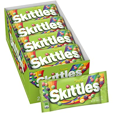 Skittles Sour 24 Bags