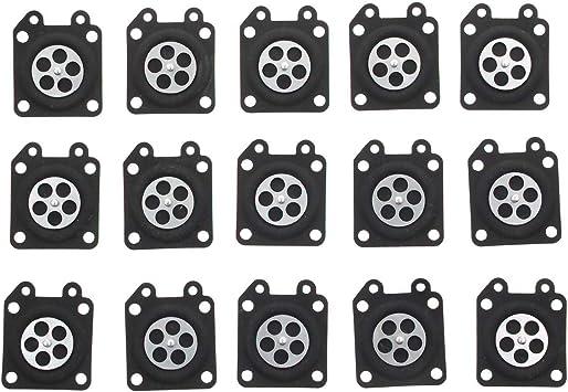 20pcs For Walbro 95-526 Carburetor Diaphragm Gasket Metering FAB Replacement