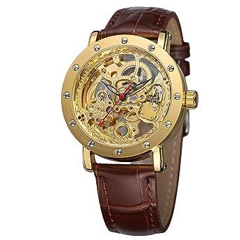 Amazon.com: FORSINING - Reloj de pulsera analógico de lujo ...