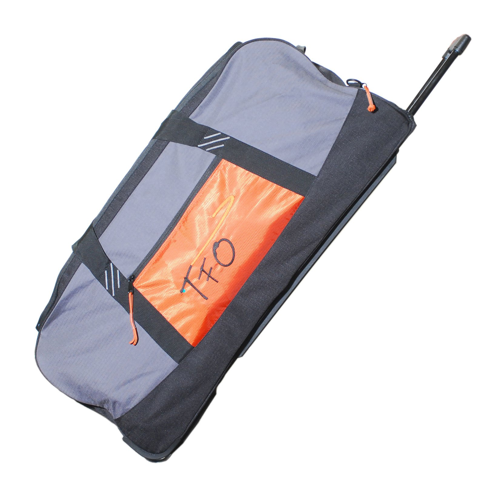 TFO Large Rolling Fly Cargo Bag Fishing Luggage Wheeled Durable Heavy Duty
