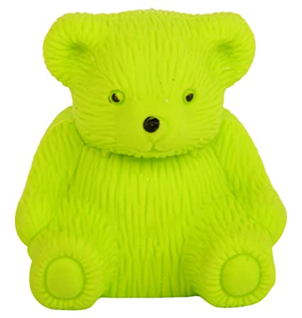 c702f6ed59135 Maa Bhagwati Green Teddy Shape Eraser with Sharpener  Amazon.in  Office  Products