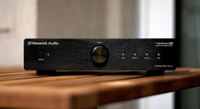 Maverick Audio D1 Digital to Analog converter DAC Headphone Amp Tube PreAmp