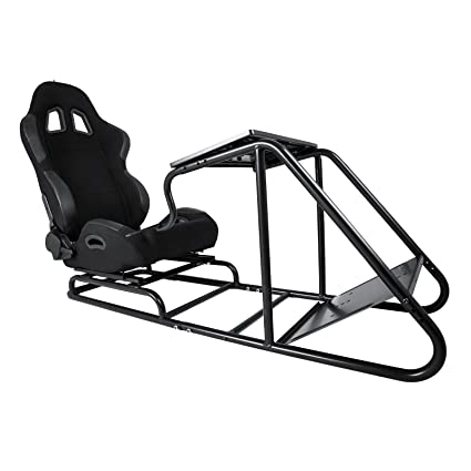 Amazon Com Happybuy Video Gaming Seat Driving Race Chair Simulator