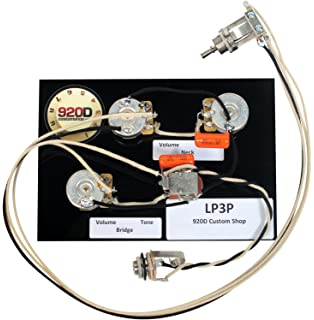 Stupendous Amazon Com Gibson Les Paul Black Beauty 3 Pickup Wiring Harness Wiring 101 Breceaxxcnl