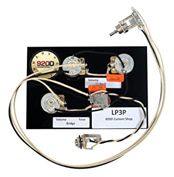 71PVy1oldbL._SY355_ amazon com gibson les paul black beauty 3 pickup wiring harness emerson les paul wiring harness at eliteediting.co