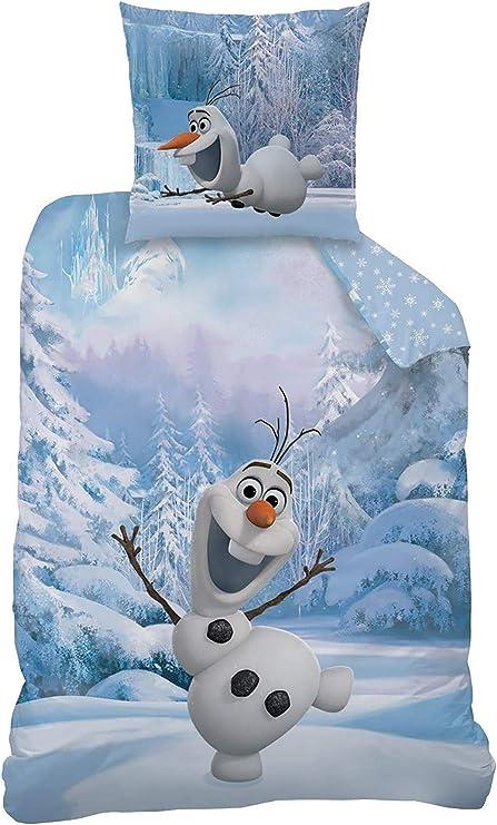 Die Eiskönigin 2 Flanell Bettwäsche Baby Elsa weiß