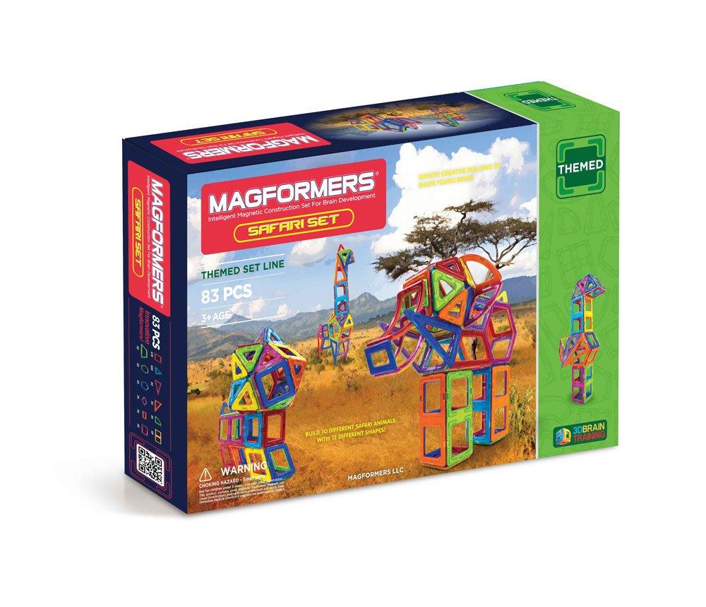Magformers Safari Set 63105 83-pieces
