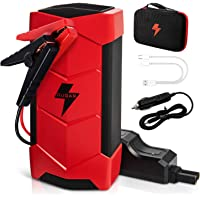 $79 » 15000mAh Jump Starter for 12V Car,1000A Peak Portable Car Battery Charger - Auto…