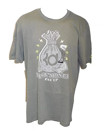959419ffbf63 Image Unavailable. Image not available for. Color  Nike Men s KD Easy Money  Pay Up T-Shirt -xxl