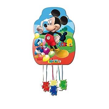 ALMACENESADAN 0840, Piñata Perfil Disney Mickey Mouse,, Fiestas y cumpleaños, Dimensiones: 33x46 cms