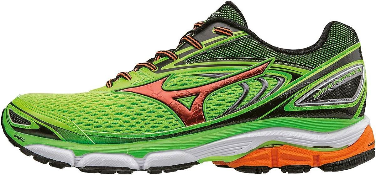 Mizuno Wave Inspire 13, Zapatillas de Running para Hombre, Negro, 48: Amazon.es: Zapatos y complementos
