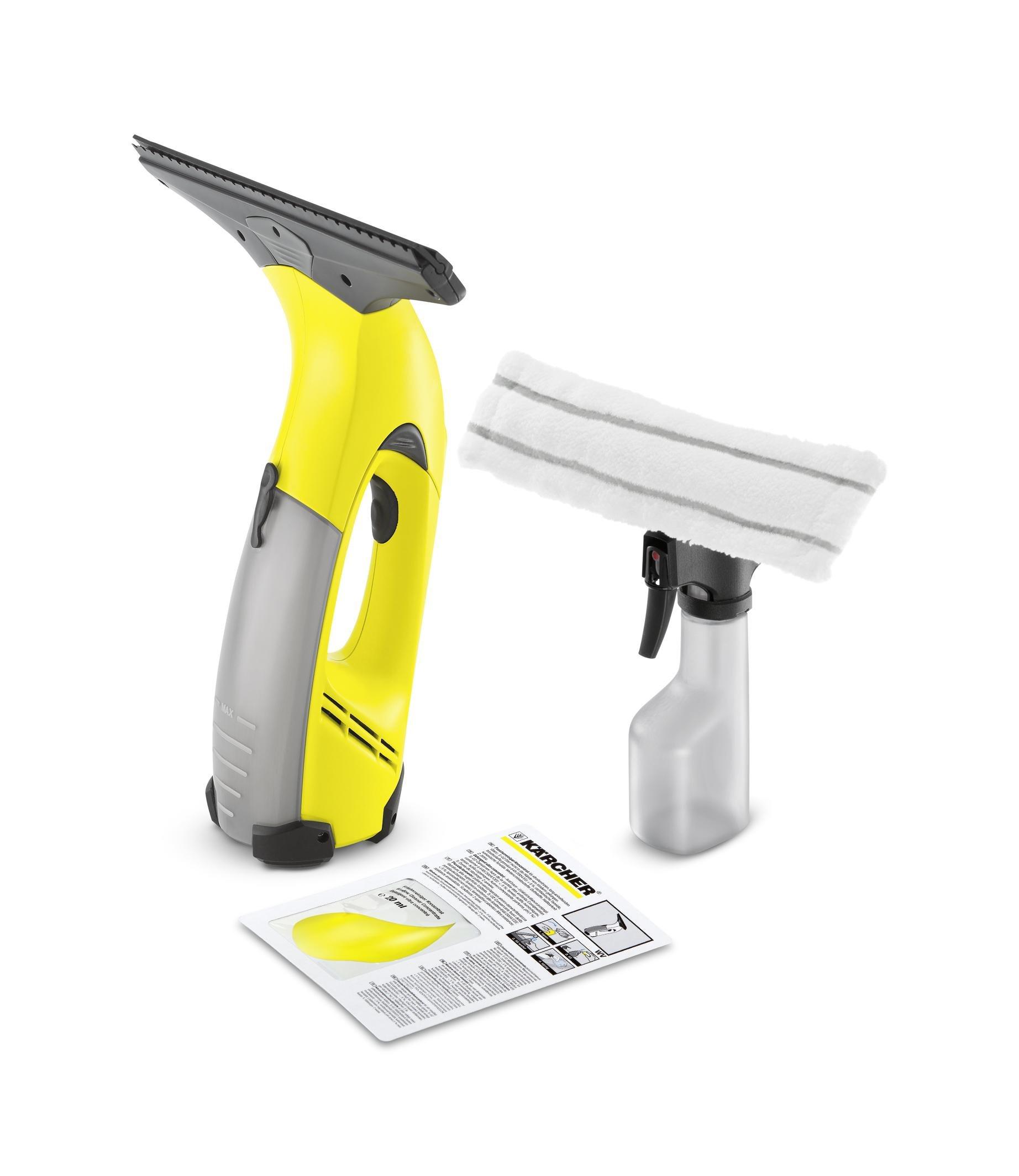 Kärcher WV 50 Plus - Limpiador de ventanas, rendimiento de limpieza por carga 25 m²
